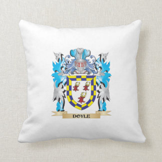 Doyle Coat of Arms - Family Crest Pillow
