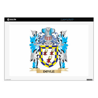 """Doyle Coat of Arms - Family Crest Decals For 17"""" Laptops"""
