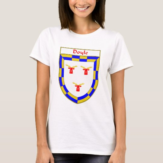 Doyle Coat of Arms/Family Crest T-Shirt