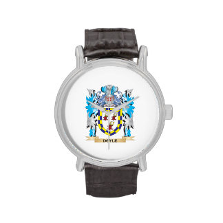Doyle Coat of Arms - Family Crest Wrist Watch