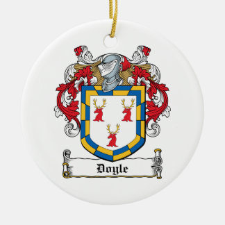 Doyle Family Crest Ceramic Ornament