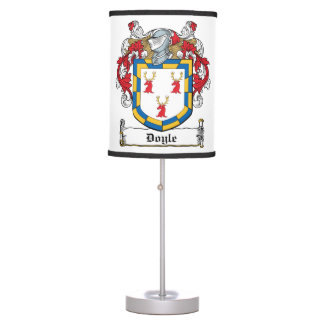Doyle Family Crest Lamps