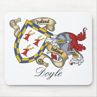 Doyle Family Crest Mouse Pad