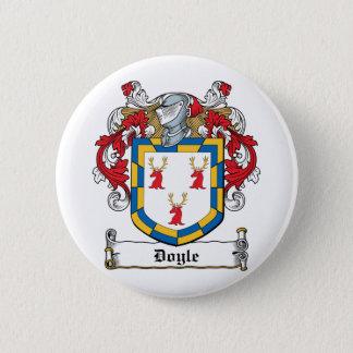 Doyle Family Crest Pinback Button