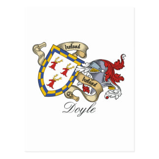 Doyle Family Crest Post Cards