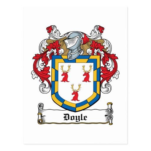 Doyle Family Crest Postcards
