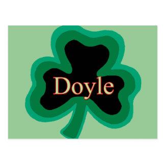 Doyle Family Postcard