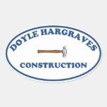 Doyle Hargrave Construction Sticker