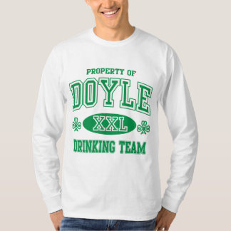 Doyle Irish Drinking Team T-Shirt