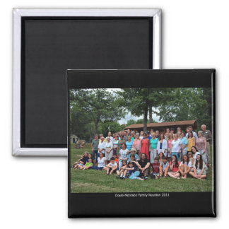 Doyle-Morrison Family Reunion 2011 2 Inch Square Magnet