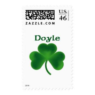 Doyle Shamrock Postage Stamp