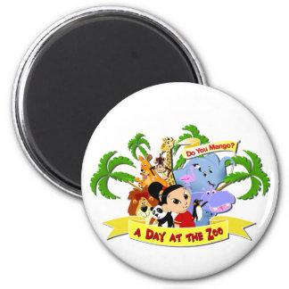 DoYouMango 2 Inch Round Magnet