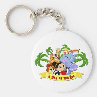 DoYouMango Basic Round Button Keychain