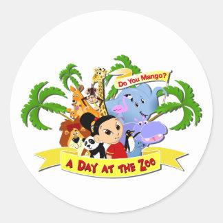 DoYouMango Classic Round Sticker
