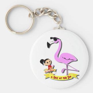 DoYouMango - Flamingo! Basic Round Button Keychain