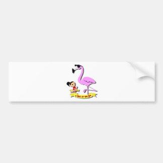 DoYouMango - Flamingo! Bumper Sticker