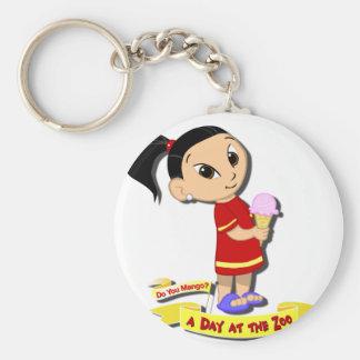 DoYouMango - Ice Cream! Basic Round Button Keychain