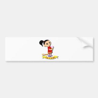 DoYouMango - Ice Cream! Bumper Sticker