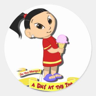 DoYouMango - Ice Cream! Classic Round Sticker