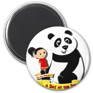 DoYouMango - Panda! 2 Inch Round Magnet