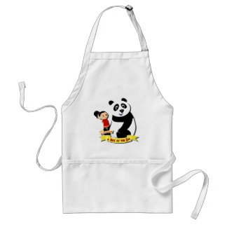 DoYouMango - Panda! Adult Apron