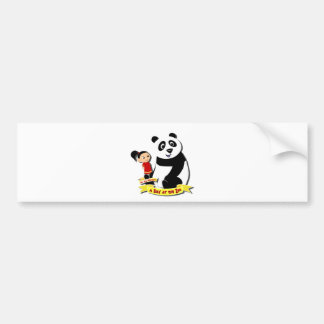 DoYouMango - Panda! Bumper Sticker