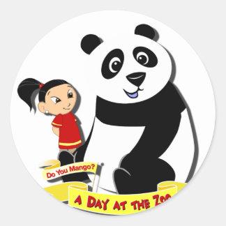 DoYouMango - Panda! Classic Round Sticker
