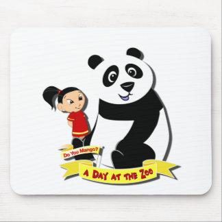 DoYouMango - Panda! Mouse Pad