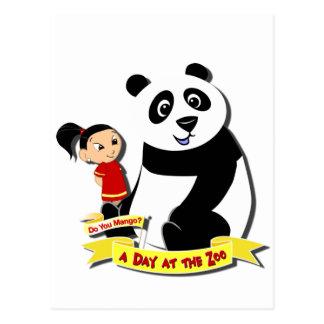 DoYouMango - Panda! Postcard