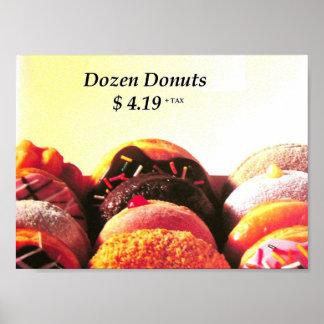 dozen donuts poster