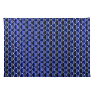 Dozens of Thin Blue Line Buttons Placemat