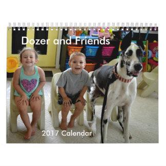 Dozer and Friends 2017 Calendar