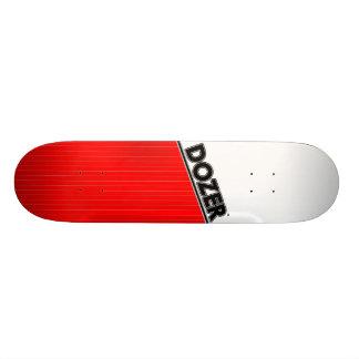 Dozer™ Basic Pinstripe Deck Red