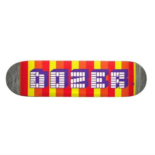 Logos That Begin With C >> Dozer™ Candy Logo Deck Skateboards   Zazzle