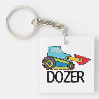 Dozer Square Acrylic Key Chain