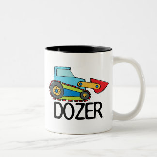Dozer Two-Tone Coffee Mug
