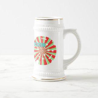 Dozer™ Pinwheel Beer Stein