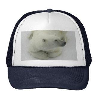 Dozing Polar Bear Trucker Hat