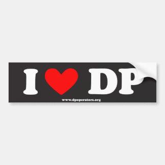 DP Bumper Sticker Car Bumper Sticker