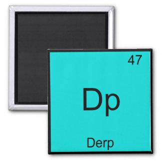 DP - Camiseta divertida de la tabla periódica de M Iman Para Frigorífico