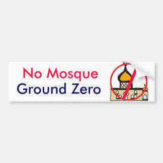 DP- No Mosque Ground Zero Bumper Sticker