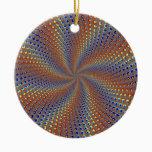 Dpgoe Christmas Fractal Ceramic Ornament