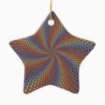 Dpgoe Christmas Fractal Ceramic Ornament