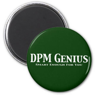 DPM Genius Gifts 2 Inch Round Magnet