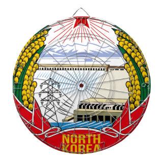 DPRK (North Korea) Emblem Dartboard
