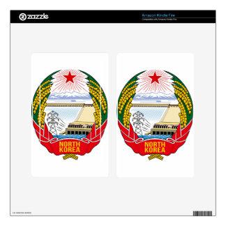 DPRK (North Korea) Emblem Decal For Kindle Fire