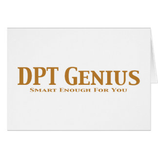 DPT Genius Gifts Cards
