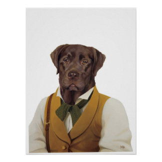 DR149 Labrador Retriever poster