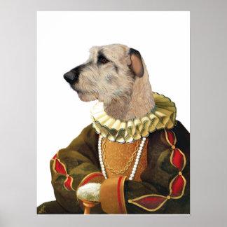 DR217 Irish Wolfhound poster