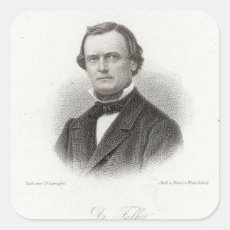 Dr Adalbert Falk Square Sticker